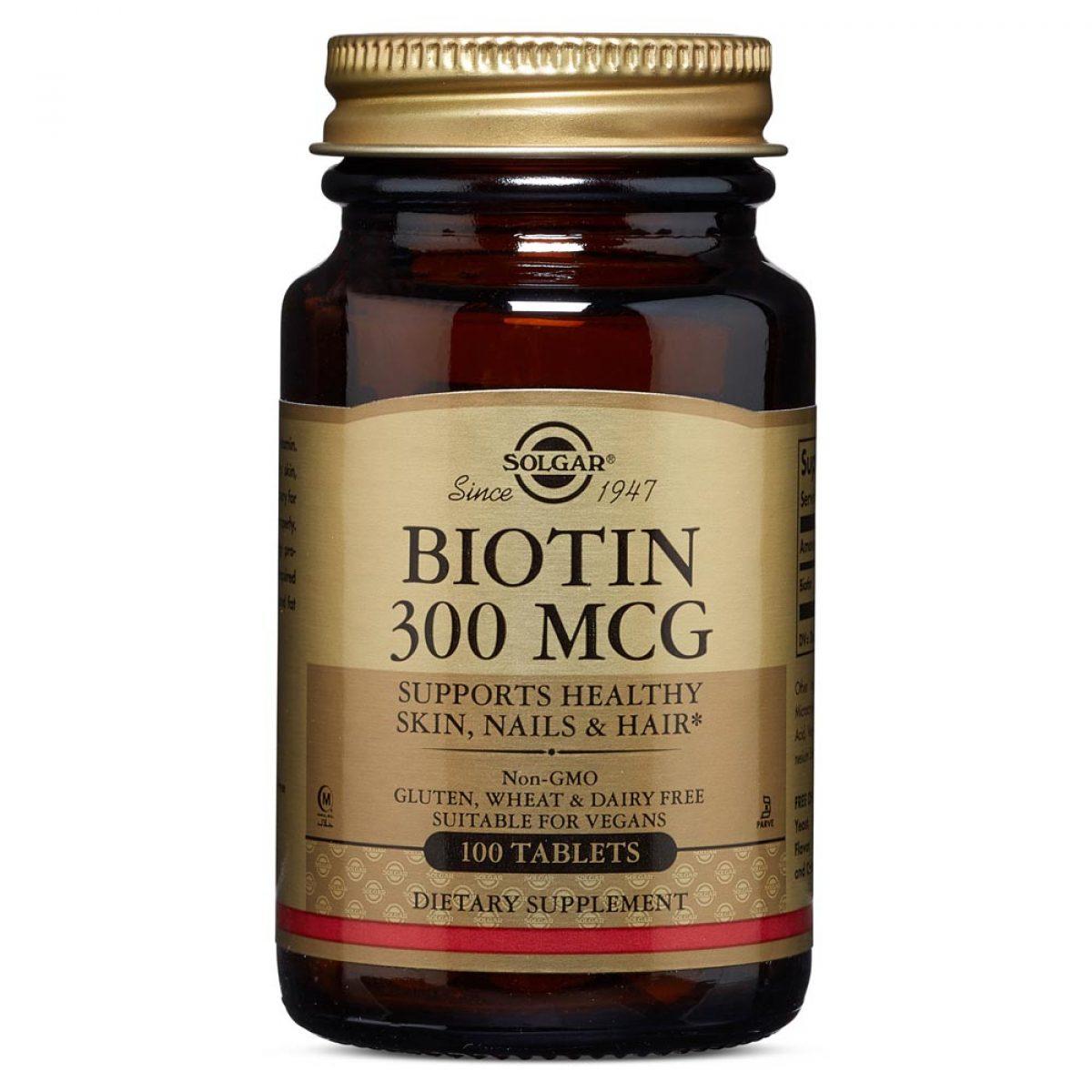 Solgar Biotin 300 µg *100 Tab
