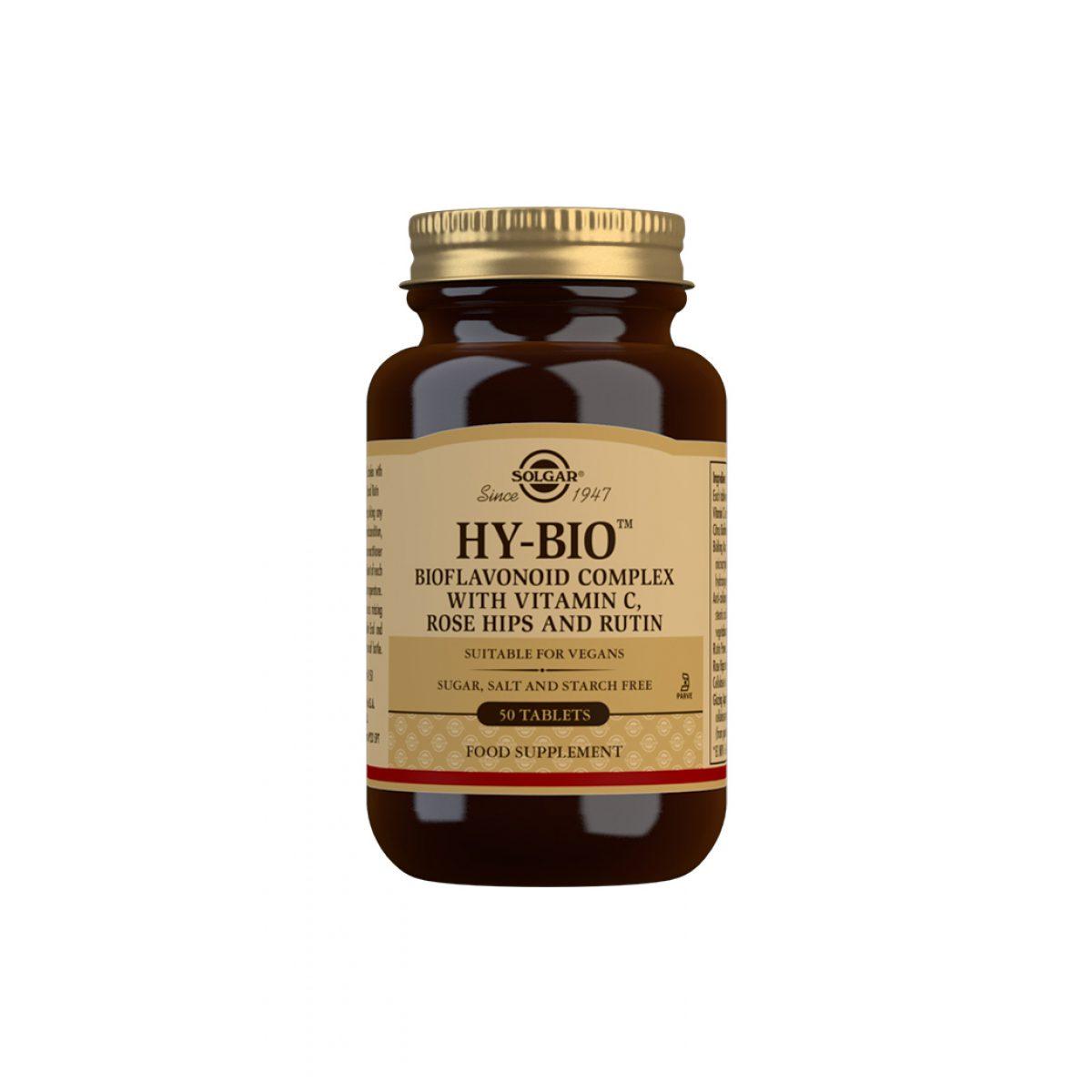 Solgar Hy-Bio™ *50 Tab