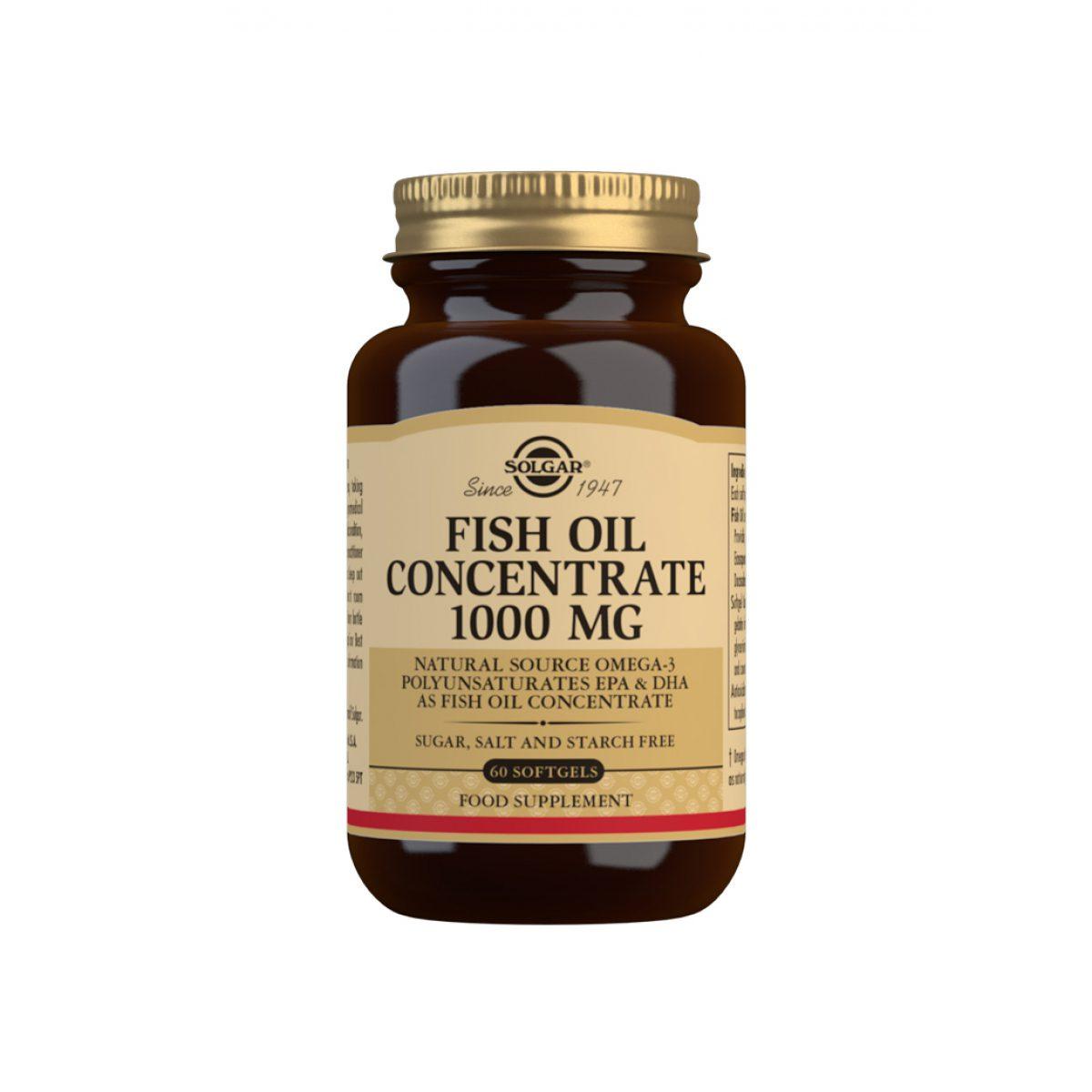 Solgar Fish Oil 1000mg *60 Caps