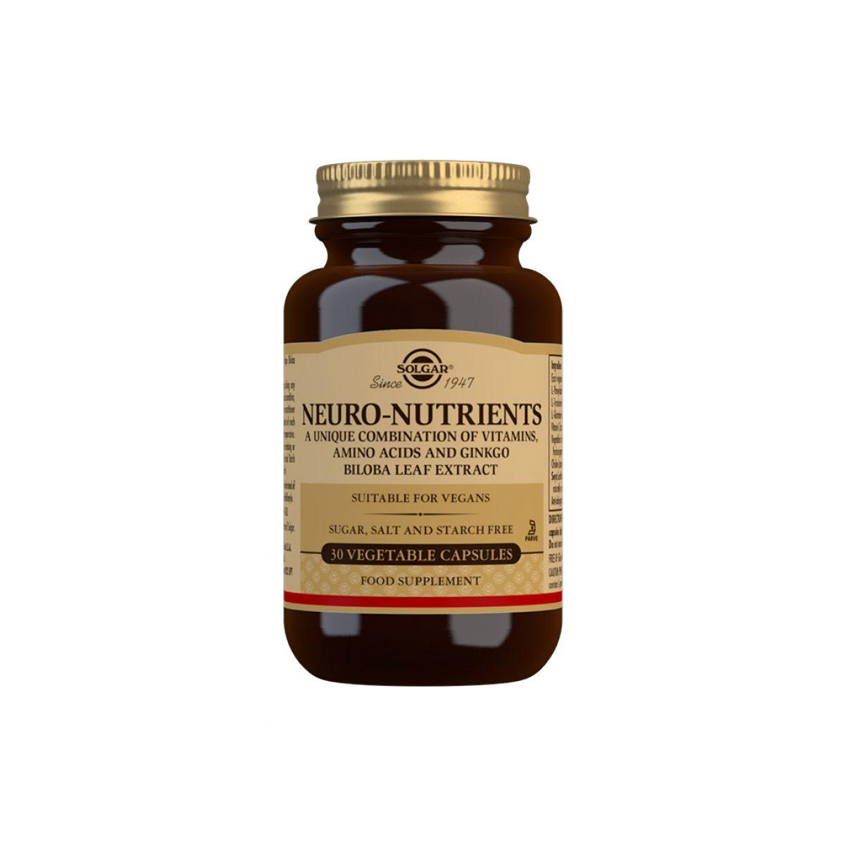 Solgar Neuro Nutrients *30 CAPS